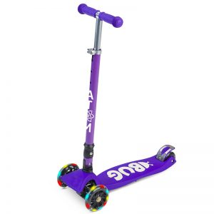 Atom Bug Scooter in Purple